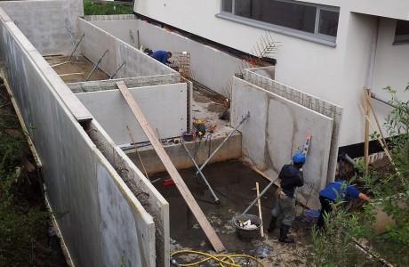 Aanbouw kelder bij Grindweg Rotterdam