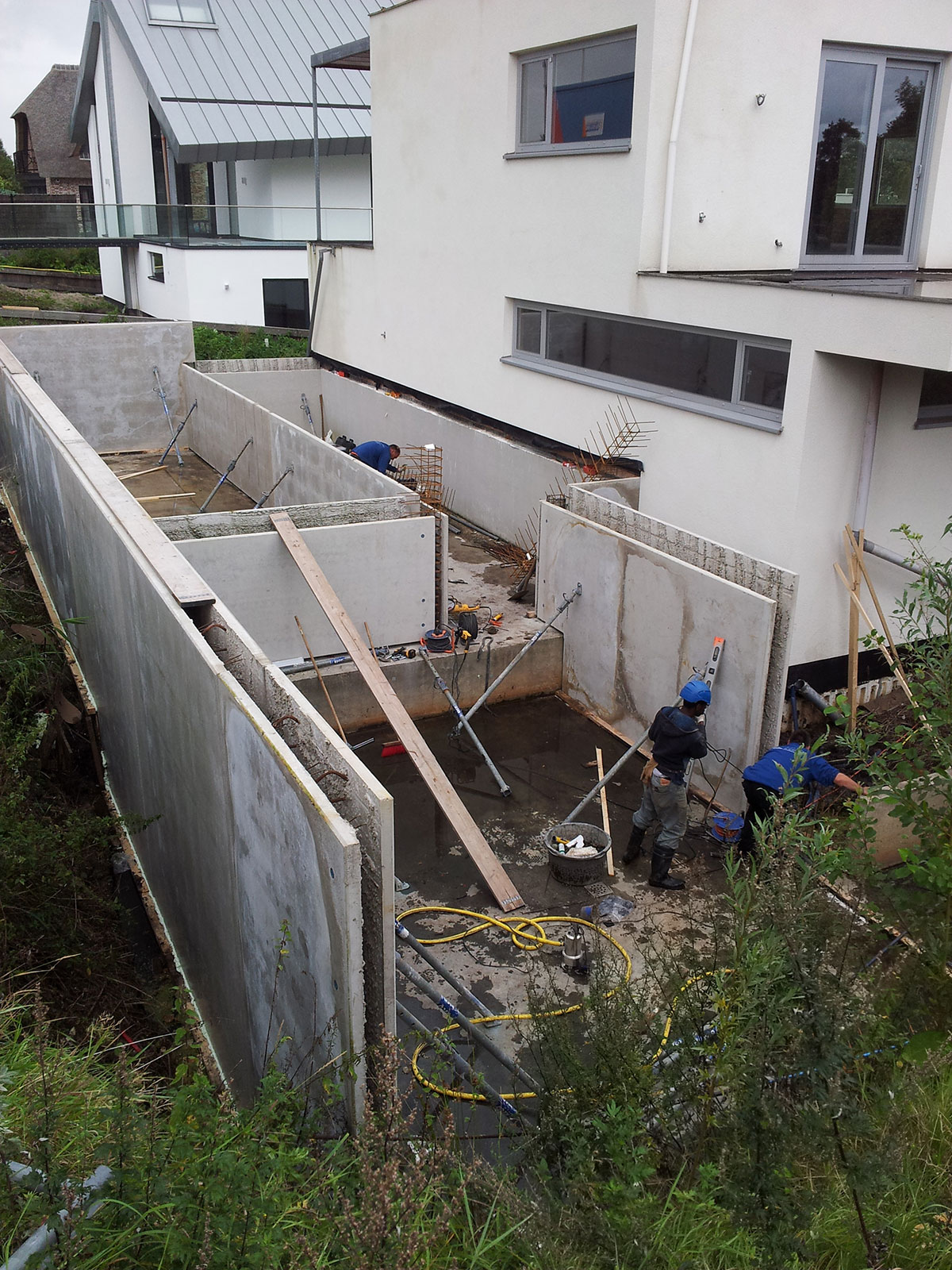 Aanbouw kelder bij grindweg rotterdam project rotterdam groep - Maak een grind steegje ...